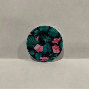 Floral Hawaiian Flowers Lei Pop Socket New